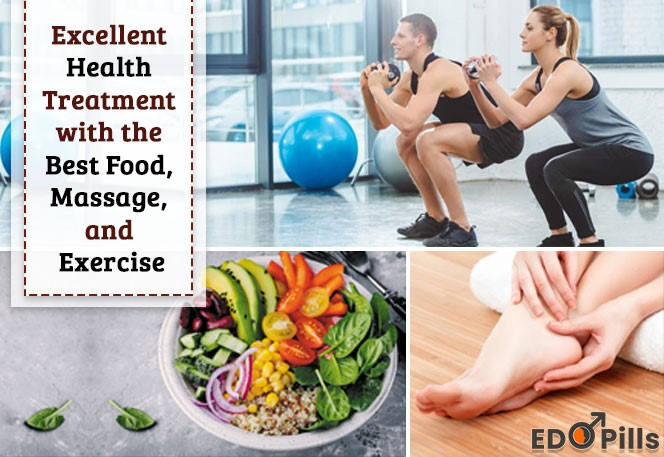 Excellent health treatment with the Best food, massage, and exercise
