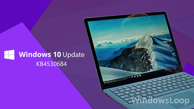 Windows Update KB4530684