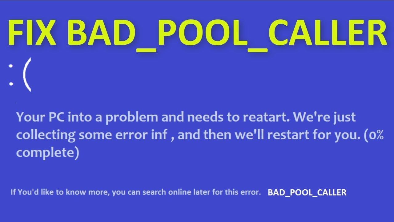 bad pool caller
