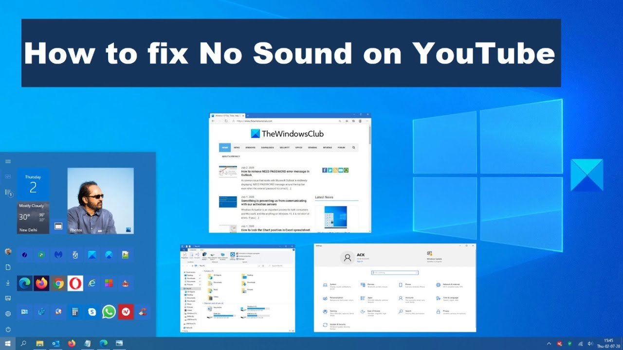 Are you experiencing no sound on YouTube? We have the solutions!