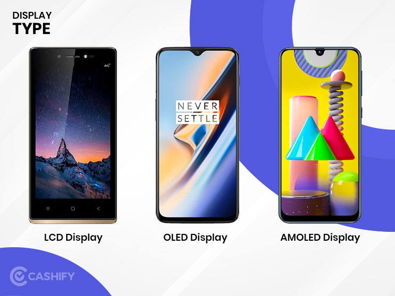 AMOLED vs OLED vs LCD