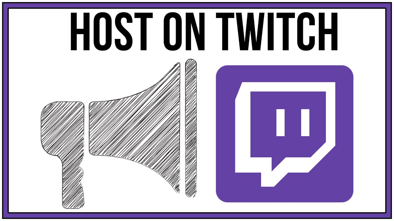 How to host someone on Twitch [easily and quickly]