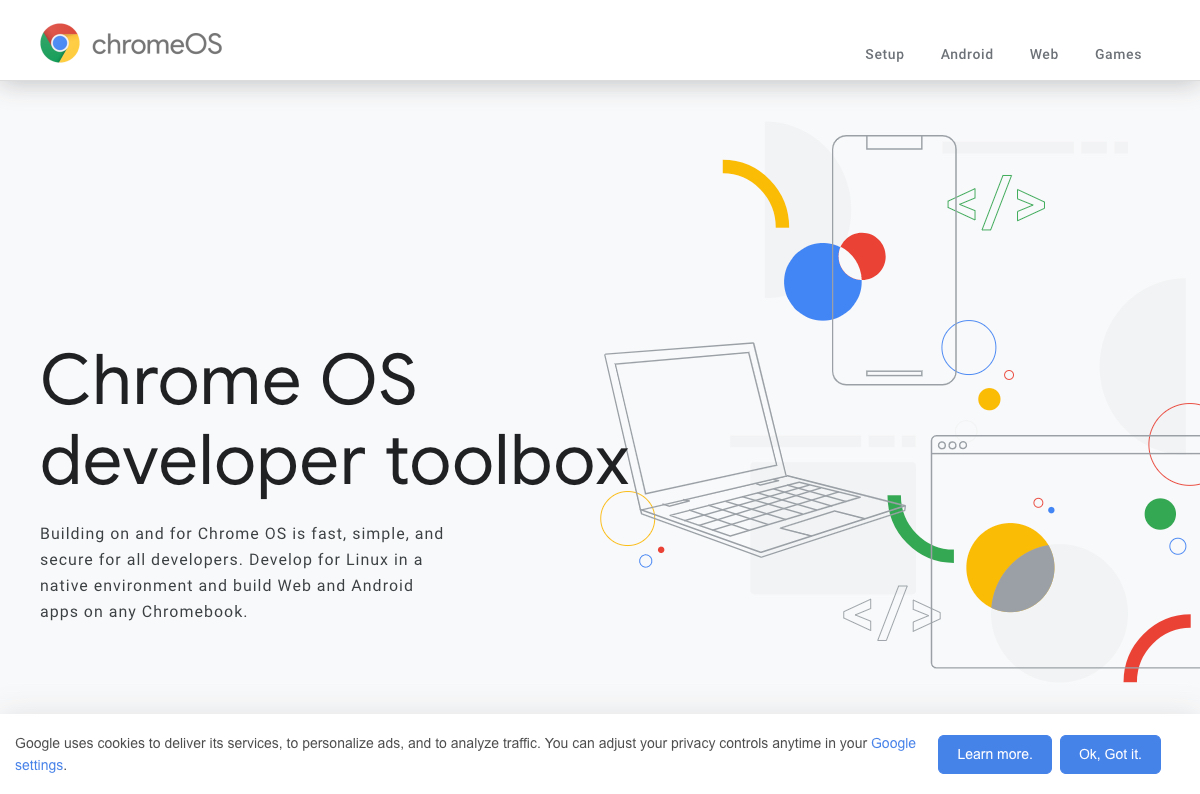 how to turn on chrome OS developer mode