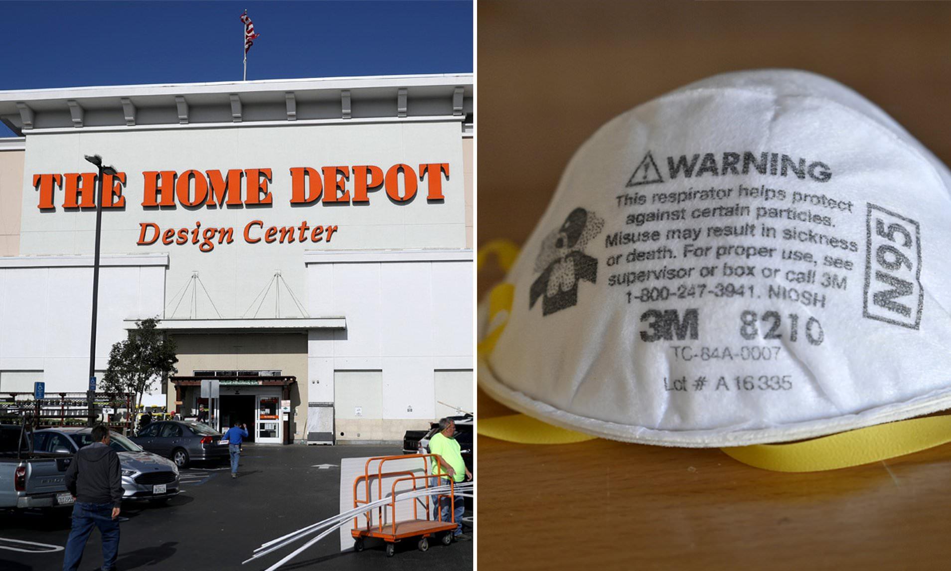Home Depot Halts N95 Masks