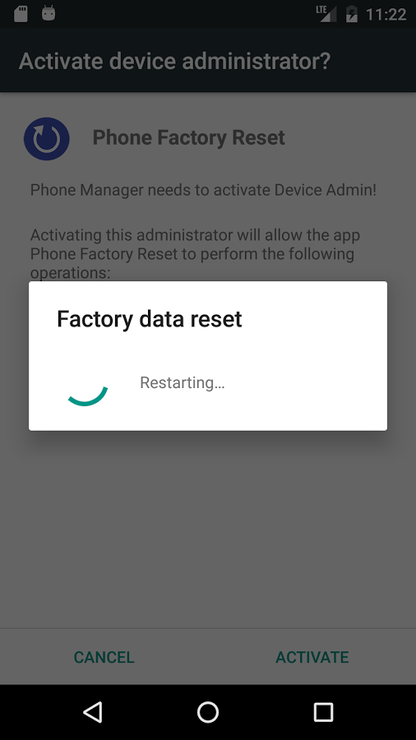 Message + keeps Stopping