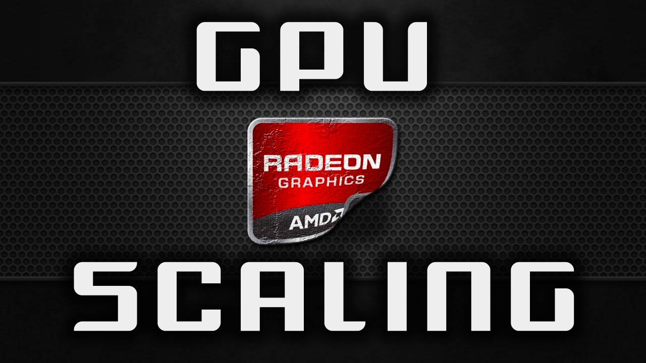 What is AMD GPU Scaling in Settings for AMD Graphics Driver?