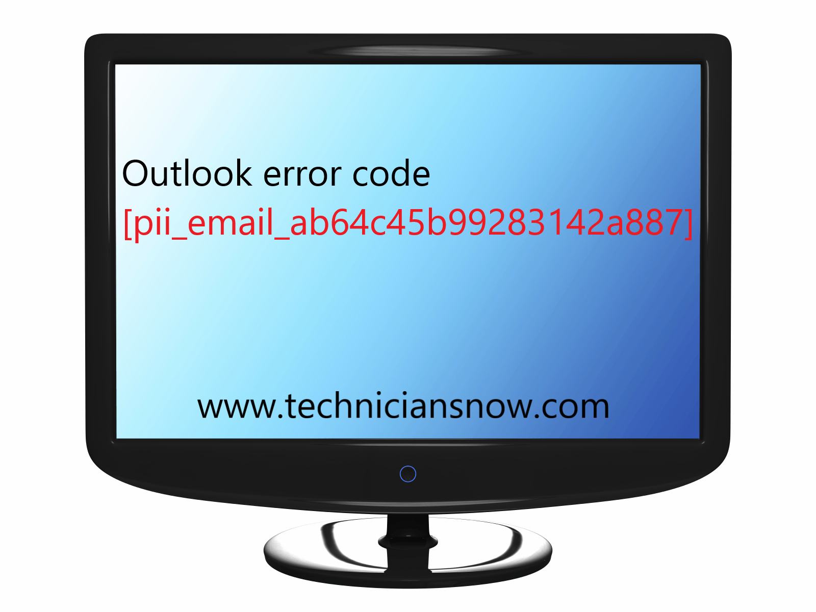 Outlook error code [pii_email_ab64c45b99283142a887]